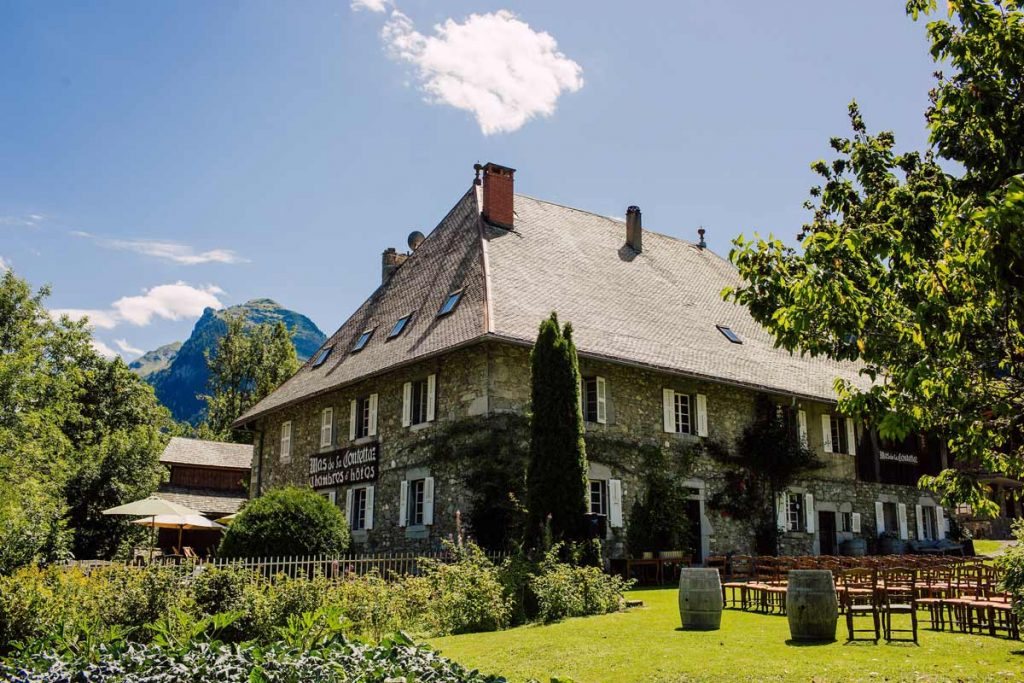The Farmhouse in Morzine is the perfect wedding venue in the French Alps