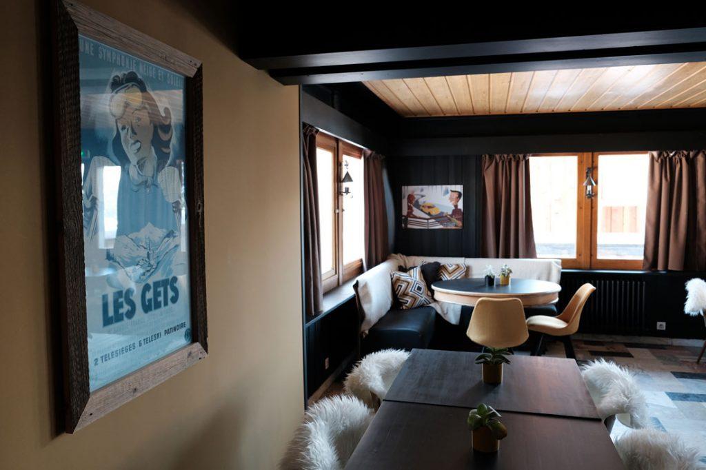 Cozy Interior of le grande laniere restaurant