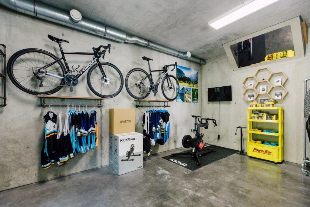 The Buzz Performance Hire bike shop in Morzine