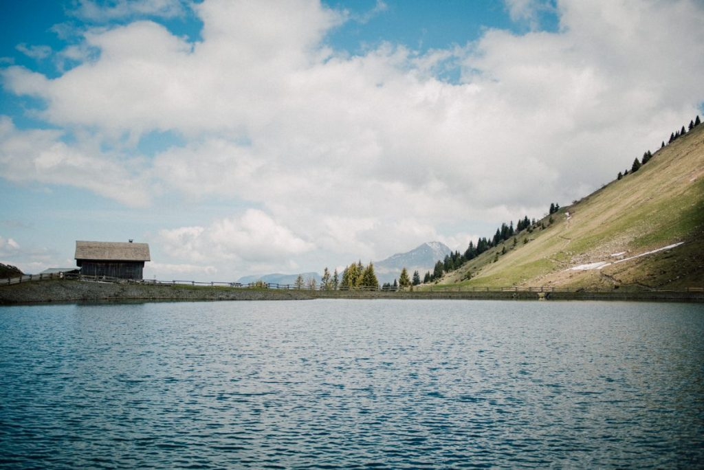 Lac du nyon, the quietest of the alpine lakes in and around Morzine