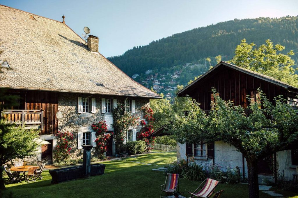 Hotel in Morzine called The Farmhouse